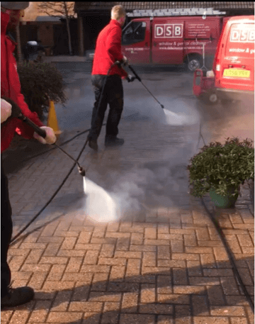 Commercial Footpath Cleaning