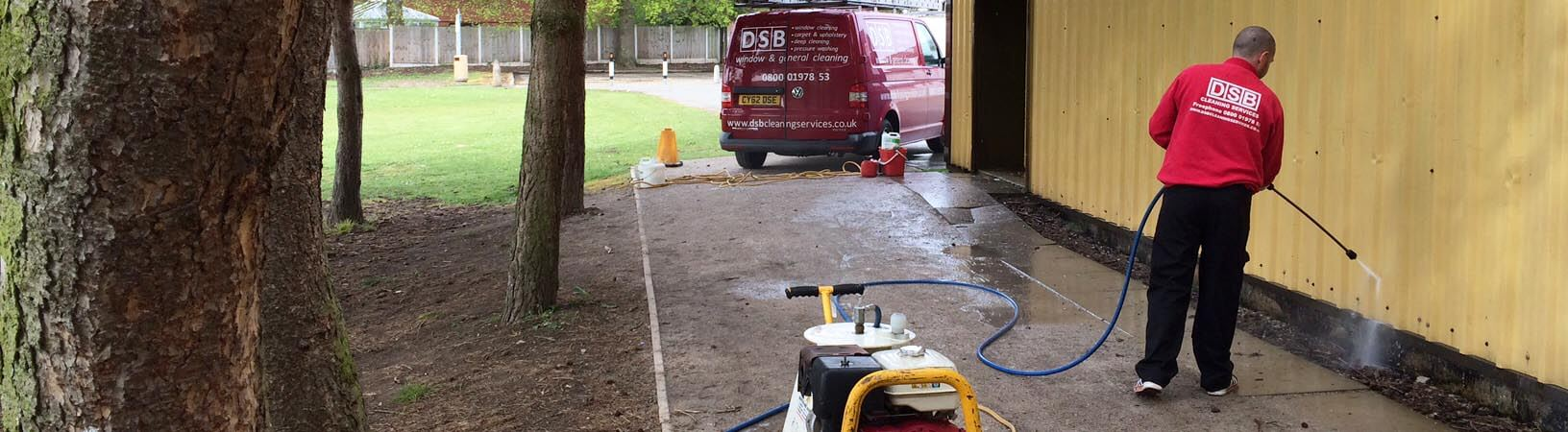 DSB Building Pressure Washing